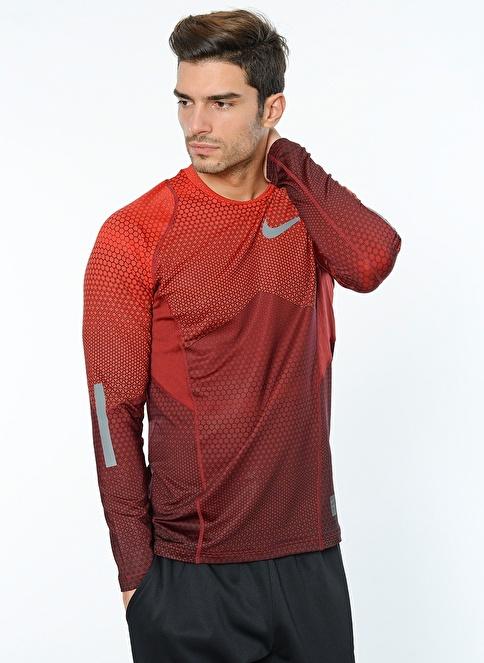 Nike M Np Hprwm Top Ls Hexodrome Kırmızı